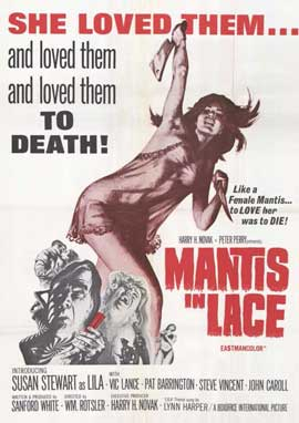 Mantis in Lace - 11 x 17 Movie Poster - Style A