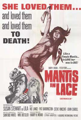 Mantis in Lace - 27 x 40 Movie Poster - Style A