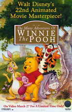 The Many Adventures of Winnie the Pooh - 11 x 17 Movie Poster - Style A