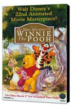 The Many Adventures of Winnie the Pooh - 11 x 17 Movie Poster - Style A - Museum Wrapped Canvas