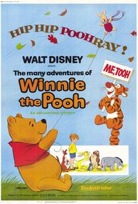 The Many Adventures of Winnie the Pooh - 27 x 40 Movie Poster - Style A