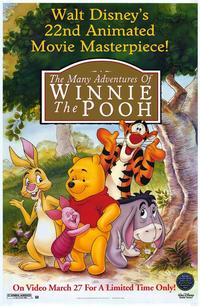 The Many Adventures of Winnie the Pooh - 43 x 62 Movie Poster - Bus Shelter Style A