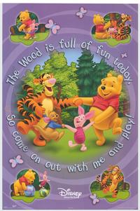 The Many Adventures of Winnie the Pooh - Family Poster - 22 x 34 - Style C