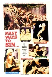Many Ways To Sin - 11 x 17 Movie Poster - Style A