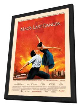 Mao's Last Dancer - 11 x 17 Movie Poster - Style A - in Deluxe Wood Frame