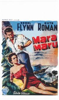 Mara Maru - 14 x 22 Movie Poster - Belgian Style A