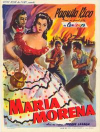 Mar�a Morena - 11 x 17 Movie Poster - Belgian Style A