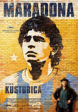 Maradona by Kusturica - 11 x 17 Movie Poster - Swedish Style A