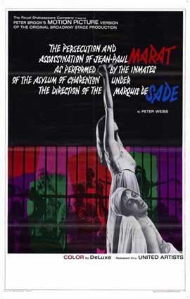 Marat de Sade - 11 x 17 Movie Poster - Style A