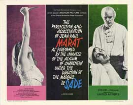Marat de Sade - 11 x 14 Movie Poster - Style A
