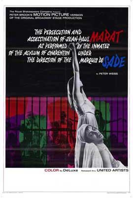 Marat de Sade - 27 x 40 Movie Poster - Style A