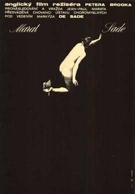 Marat de Sade - 11 x 17 Poster - Foreign - Style A