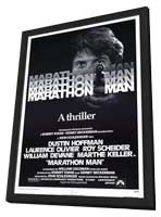 Marathon Man - 27 x 40 Movie Poster - Style A - in Deluxe Wood Frame