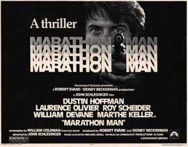 Marathon Man - 22 x 28 Movie Poster - Half Sheet Style A