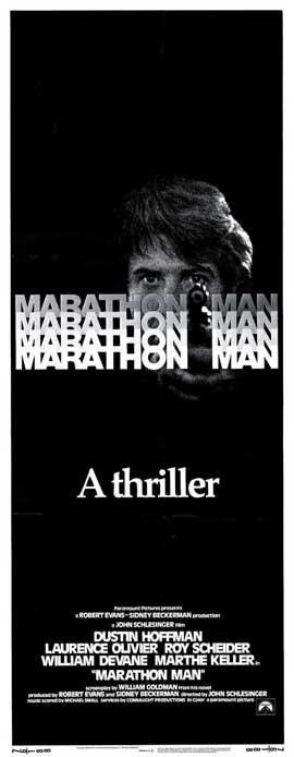 Marathon Man - 14 x 36 Movie Poster - Insert Style A