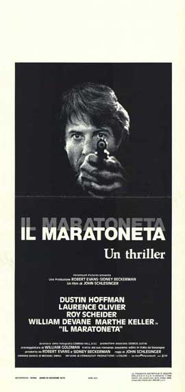 Marathon Man - 13 x 28 Movie Poster - Italian Style A