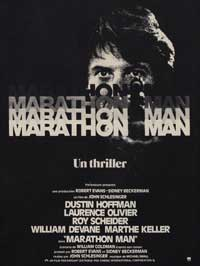 Marathon Man - 11 x 17 Movie Poster - French Style A