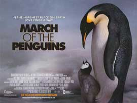 March of the Penguins - 11 x 17 Movie Poster - Style I
