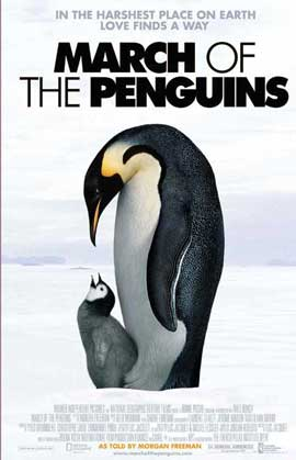 March of the Penguins - 11 x 17 Movie Poster - Style L