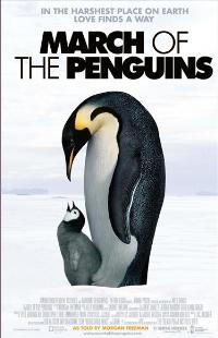 March of the Penguins - 43 x 62 Movie Poster - Bus Shelter Style C