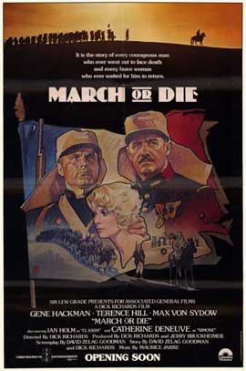 March or Die - 11 x 17 Movie Poster - Style A