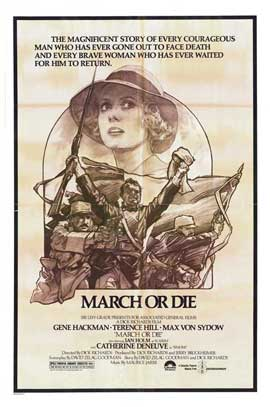March or Die - 11 x 17 Movie Poster - Style B