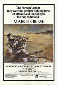 March or Die - 11 x 17 Movie Poster - Style C