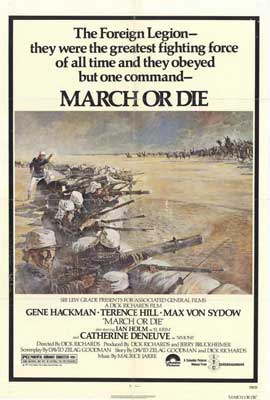 March or Die - 27 x 40 Movie Poster - Style A
