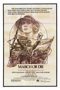 March or Die - 27 x 40 Movie Poster - Style B