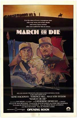 March or Die - 27 x 40 Movie Poster - Style C
