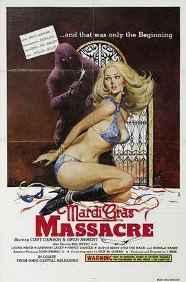 Mardi Gras Massacre - 11 x 17 Movie Poster - Style A
