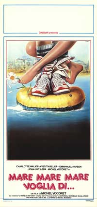 Mare Mare Mare Voglia Di - 13 x 28 Movie Poster - Italian Style A