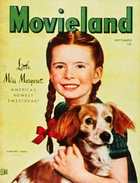 Margaret O'Brien - 11 x 17 Movieland Magazine Cover 1940's