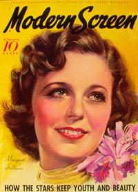 Margaret Sullavan - 11 x 17 Modern Screen Magazine Cover 1930's Style B