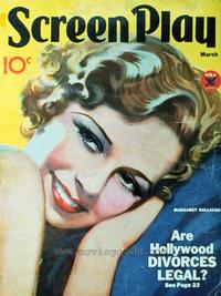 Margaret Sullavan - 27 x 40 Movie Poster - Screenplay Magazine Cover 1930's Style A