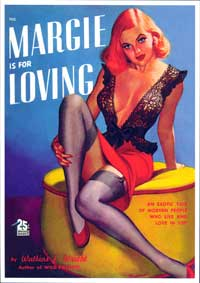 Margie is for Loving - 11 x 17 Retro Book Cover Poster