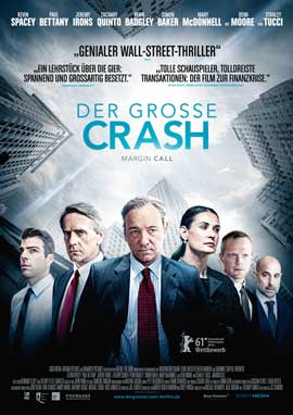 Margin Call - 11 x 17 Movie Poster - German Style B