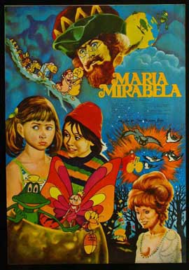 Maria, Mirabella - 11 x 17 Movie Poster - French Style A