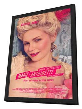 Marie Antoinette - 27 x 40 Movie Poster - Style A - in Deluxe Wood Frame