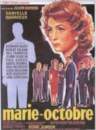 Marie Octobre - 11 x 17 Movie Poster - Belgian Style A