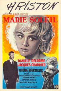 Marie Soleil - 27 x 40 Movie Poster - Belgian Style A