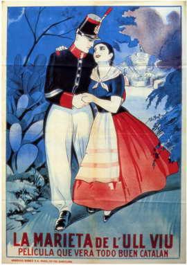 Marieta de L'ull Viu, La - 11 x 17 Movie Poster - Spanish Style A
