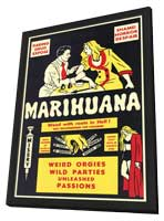 Marihuana - 11 x 17 Movie Poster - Style A - in Deluxe Wood Frame