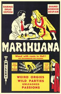 Marihuana - 43 x 62 Movie Poster - Bus Shelter Style A