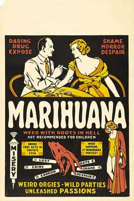 Marihuana - 27 x 40 Movie Poster - Style B