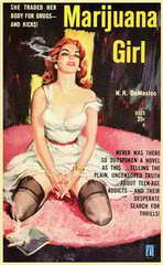 Marijuana Girl - 11 x 17 Movie Poster - Style A