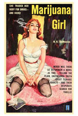 Marijuana Girl - 27 x 40 Movie Poster