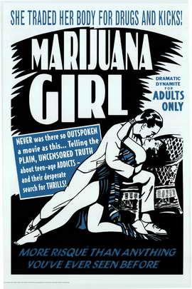 Marijuana Girl - 11 x 17 Movie Poster - Style B