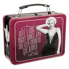 Marilyn Monroe - Give A Girl the Right Shoes Large Tin Tote