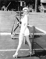 Marilyn Monroe - Marilyn Monroe Tennis Pose